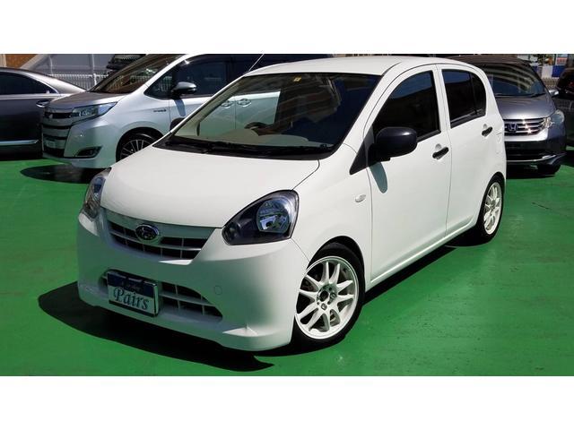 沖縄県の中古車ならプレオプラス E 車高調 ワーク15インチアルミ ナビ インパネAT ETC