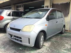 沖縄の中古車 ダイハツ ミラ 車両価格 11万円 リ済込 平成16年 9.4万K シルバー