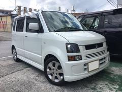 沖縄の中古車 スズキ ワゴンR 車両価格 24万円 リ済込 平成18年 9.3万K パール