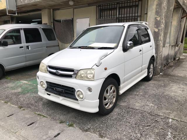 沖縄の中古車 ダイハツ テリオスキッド 車両価格 14万円 リ済込 2002(平成14)年 15.8万km ホワイト