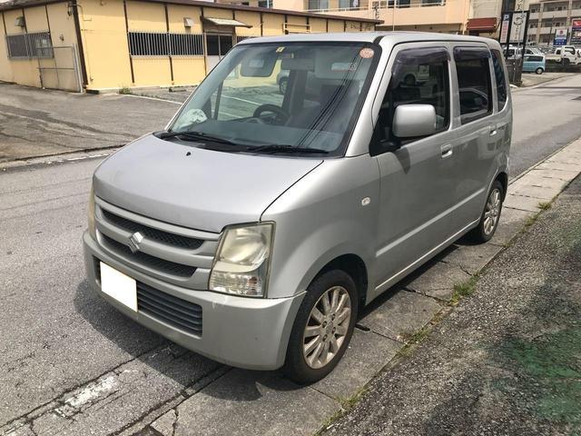 沖縄の中古車 スズキ ワゴンR 車両価格 18万円 リ済込 2006(平成18)年 9.2万km シルバー
