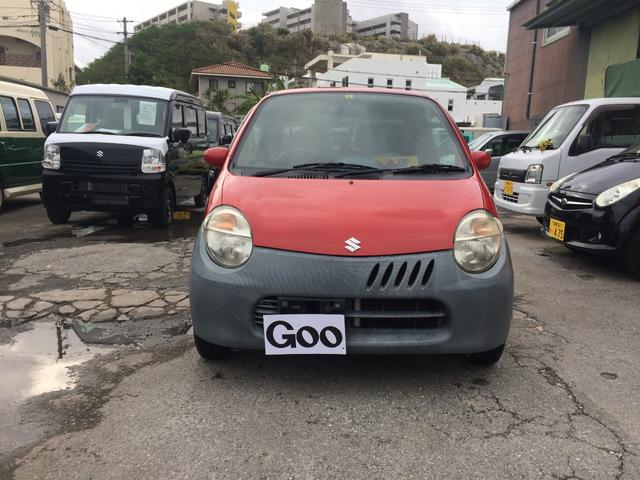 沖縄の中古車 スズキ ツイン 車両価格 37万円 リ済込 平成16年 12.1万km レッド
