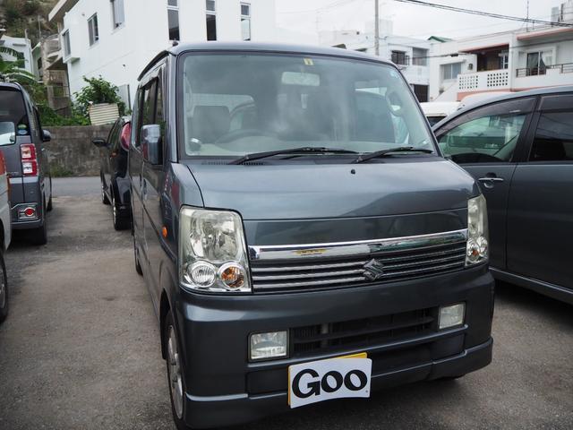 沖縄の中古車 スズキ エブリイワゴン 車両価格 37万円 リ済込 平成19年 11.4万km ガンM