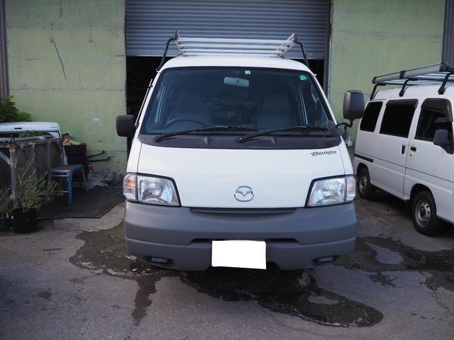 沖縄の中古車 マツダ ボンゴバン 車両価格 54.8万円 リ済込 2011(平成23)年 14.4万km ホワイト
