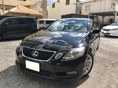 沖縄の中古車 レクサス GS 車両価格 49万円 リ済別 平成17年 18.9万K ブラック