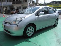 沖縄の中古車 トヨタ プリウス 車両価格 48万円 リ済込 平成19年 10.7万K シルバーM