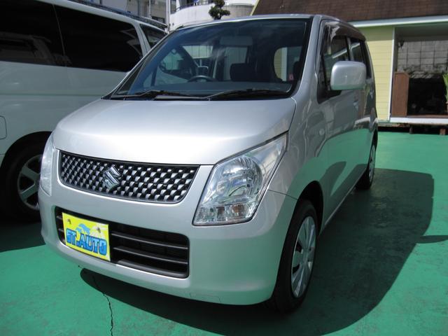 沖縄の中古車 スズキ ワゴンR 車両価格 49万円 リ済込 平成23年 9.9万km シルバーM