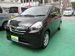 沖縄の中古車 ダイハツ ミライース 車両価格 45万円 リ済込 平成24年 8.2万K ブラックM