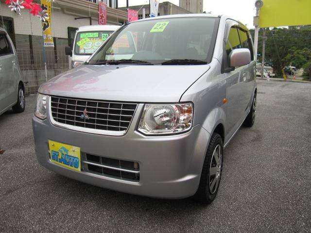 沖縄の中古車 三菱 eKワゴン 車両価格 23万円 リ済込 平成22年 11.9万km シルバーM