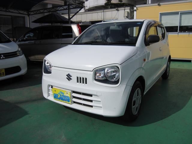 沖縄の中古車 スズキ アルト 車両価格 49万円 リ済込 2015(平成27)年 8.4万km ホワイトM