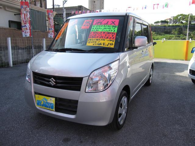 沖縄の中古車 スズキ パレット 車両価格 54万円 リ済込 2013(平成25)年 9.0万km シルバーM