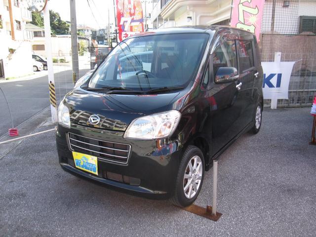 沖縄の中古車 ダイハツ タントエグゼ 車両価格 39万円 リ済込 2011(平成23)年 10.1万km ブラックM