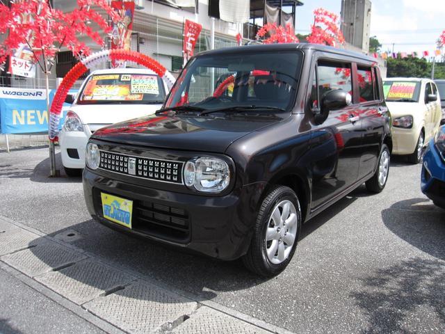 沖縄県の中古車ならアルトラパン Xセレクション