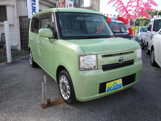 沖縄の中古車 トヨタ ピクシススペース 車両価格 47万円 リ済込 2013(平成25)年 11.0万km LグリーンM