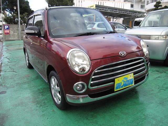沖縄の中古車 ダイハツ ミラジーノ 車両価格 34万円 リ済込 2007(平成19)年 11.0万km レッドII