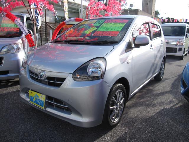沖縄の中古車 ダイハツ ミライース 車両価格 39万円 リ済込 2012(平成24)年 10.2万km シルバーM