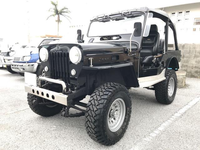 沖縄の中古車 三菱 ジープ 車両価格 99万円 リ済込 平成6年 6.0万km ブラック