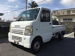 沖縄の中古車 スズキ キャリイトラック 車両価格 39万円 リ済込 平成17年 8.2万K ホワイト