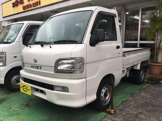 沖縄の中古車 ダイハツ ハイゼットトラック 車両価格 49万円 リ済込 平成16年 5.7万km ホワイト