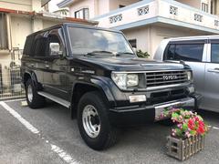 沖縄の中古車 トヨタ ランドクルーザープラド 車両価格 115万円 リ済込 平成7年 23.2万K ブラック