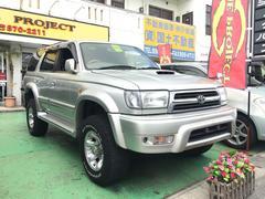 沖縄の中古車 トヨタ ハイラックスサーフ 車両価格 119万円 リ済込 平成11年 15.2万K シルバー