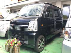 沖縄の中古車 スズキ エブリイワゴン 車両価格 56万円 リ済込 平成21年 6.5万K ブラック