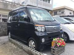 沖縄の中古車 ダイハツ アトレーワゴン 車両価格 68万円 リ済込 平成22年 5.9万K ブラック