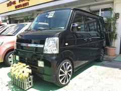 沖縄の中古車 スズキ エブリイワゴン 車両価格 85万円 リ済込 平成22年 7.2万K ブラック