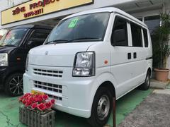 沖縄の中古車 スズキ エブリイ 車両価格 59万円 リ済込 平成24年 6.3万K ホワイト