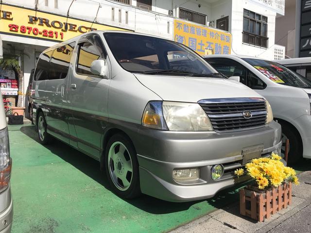 沖縄の中古車 トヨタ グランドハイエース 車両価格 69万円 リ済込 1999(平成11)年 14.0万km ホワイトII