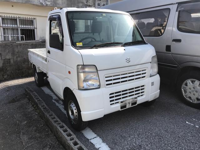 沖縄県の中古車ならキャリイトラック KCエアコン・パワステ ナビTV バックモニター ETC