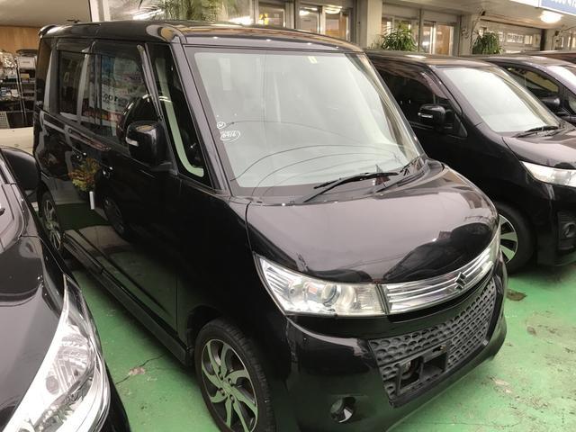 沖縄の中古車 スズキ パレットSW 車両価格 69万円 リ済込 平成24年 5.7万km ブラック