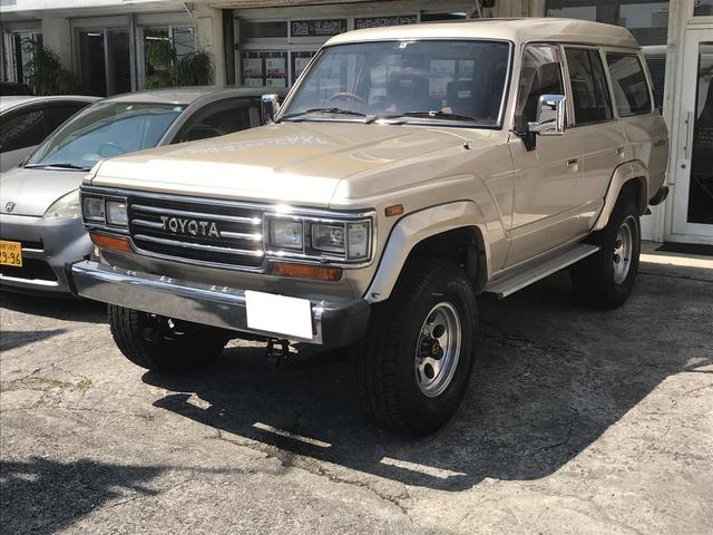 沖縄県の中古車ならランドクルーザー60 VX ディーゼルターボ フルセグTV メモリーナビ ETC
