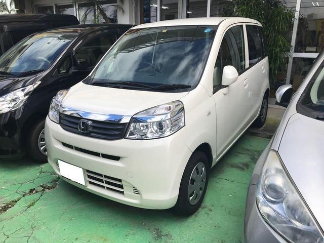 沖縄の中古車 ホンダ ライフ 車両価格 33万円 リ済込 2013(平成25)年 9.5万km パールホワイト