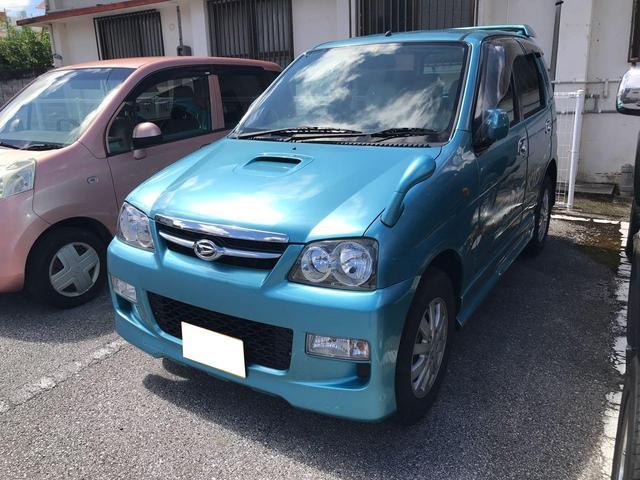 沖縄の中古車 ダイハツ テリオスキッド 車両価格 30万円 リ済込 2006(平成18)年 11.0万km ライトブルー