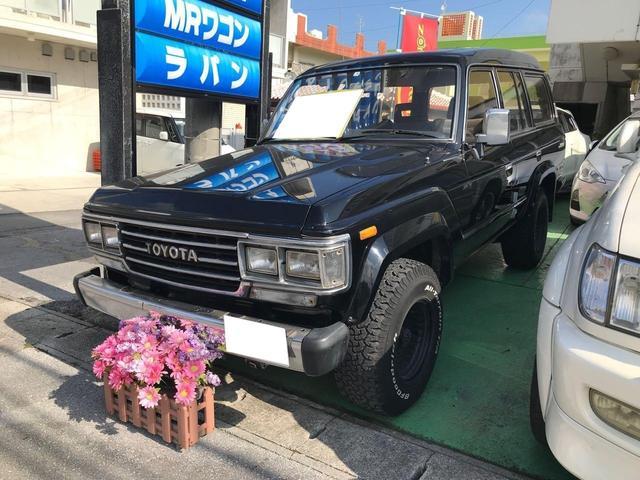 沖縄県の中古車ならランドクルーザー60 VX ターボ ETC 社外アルミ バックカメラ