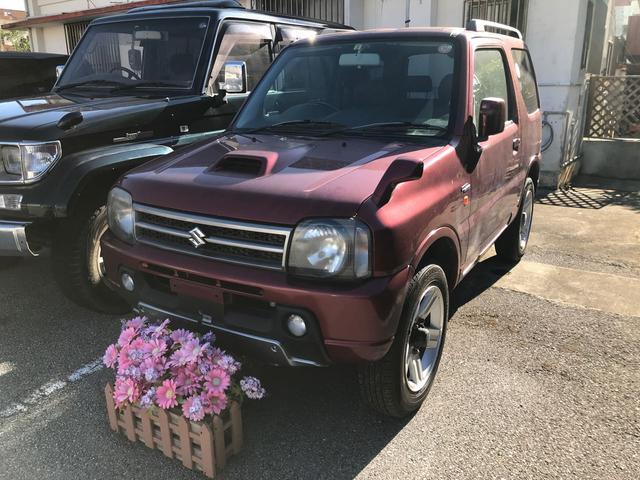 沖縄の中古車 スズキ ジムニー 車両価格 69万円 リ済込 2006(平成18)年 10.7万km ワイン