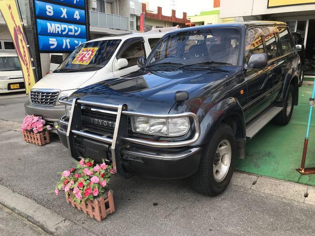 沖縄県の中古車ならランドクルーザー80 VXリミテッド ワンオーナー 純正オプション 電動ウインチ