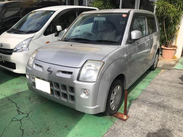 沖縄の中古車 日産 ピノ 車両価格 25万円 リ済込 2010(平成22)年 7.6万km シルバー