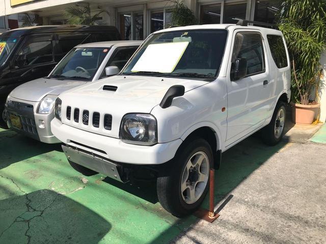 沖縄の中古車 スズキ ジムニー 車両価格 39万円 リ済込 2000(平成12)年 14.3万km ホワイト