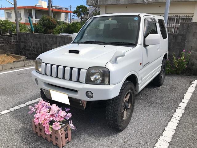 沖縄の中古車 スズキ ジムニー 車両価格 49万円 リ済込 2003(平成15)年 12.6万km ホワイト