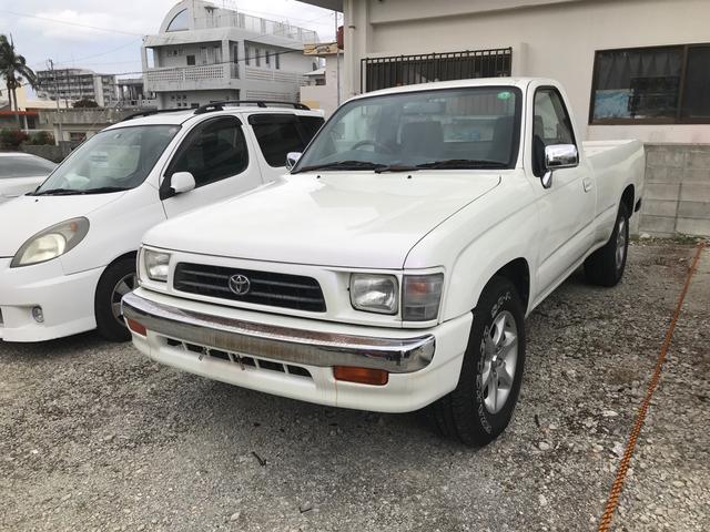 沖縄県の中古車ならハイラックス  純正アルミ CD ベンチシート