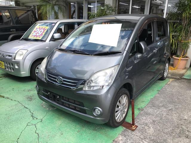 沖縄の中古車 ダイハツ ムーヴ 車両価格 29万円 リ済込 2009(平成21)年 5.8万km グレー