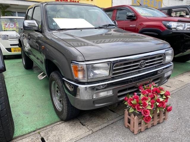 沖縄の中古車 トヨタ ハイラックススポーツピック 車両価格 129万円 リ済込 1998(平成10)年 22.4万km グレーM