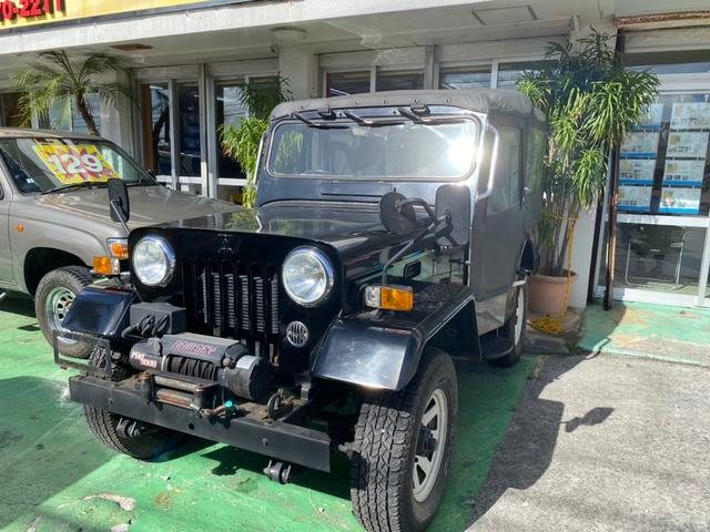 沖縄県宜野湾市の中古車ならジープ  ウインチリモコン付 純正アルミ 4WD
