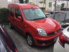 沖縄の中古車 ルノー ルノー カングー 車両価格 98万円 リ済込 2007年 5.6万K レッドM