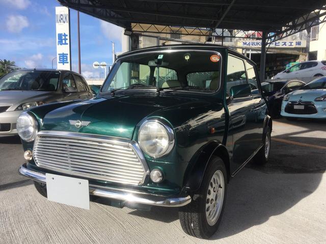 沖縄の中古車 ローバー ローバー MINI 車両価格 93万円 リ済別 1998(平成10)年 2.7万km グリーン