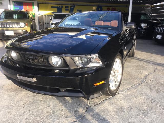 浦添市 丸貴 株式会社 フォード フォード マスタング V8 GTコンバーチブル プレミアム ブラック 3.6万km 2011(平成23)年