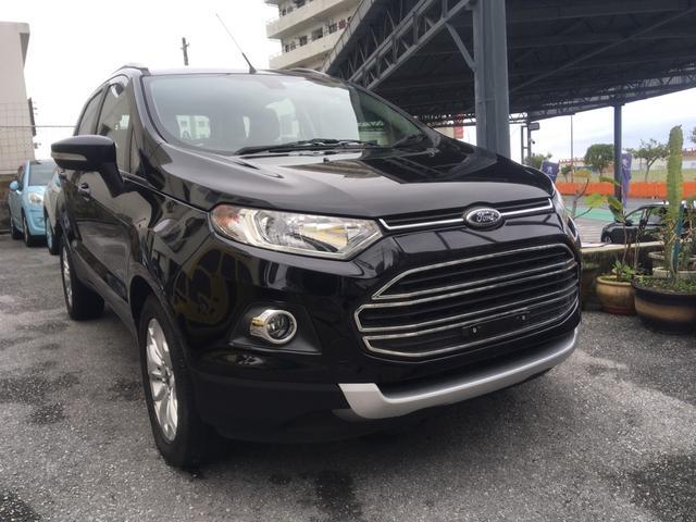 沖縄の中古車 フォード フォード エコスポーツ 車両価格 118万円 リ済別 2015(平成27)年 1.1万km ブラック