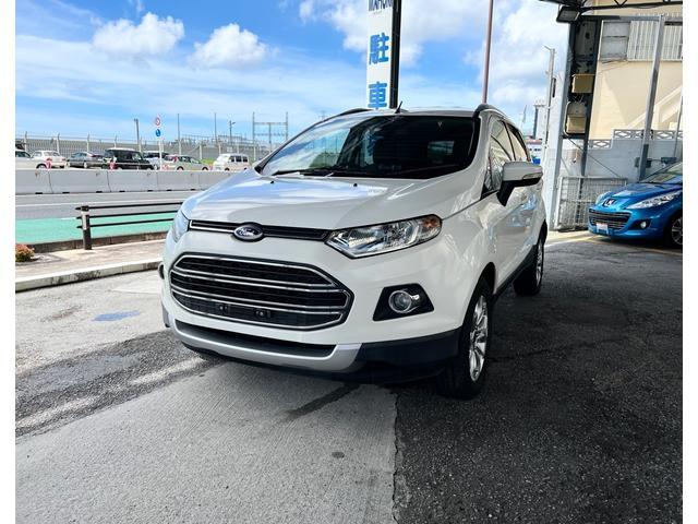 沖縄の中古車 フォード エコスポーツ 車両価格 130万円 リ済別 2015(平成27)年 3.5万km ホワイト